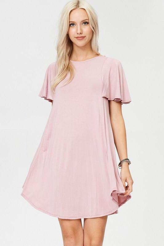 Bella Soft Pink Dress