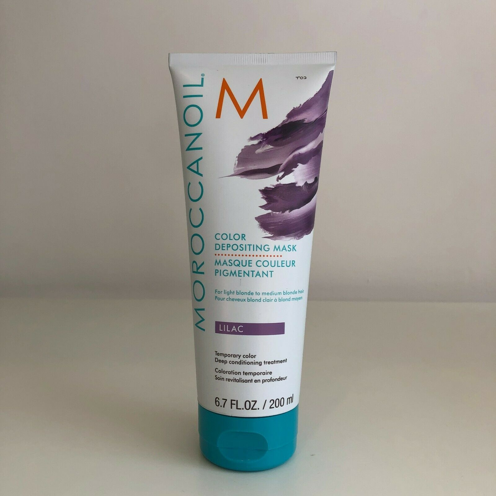 Moroccanoil Lilac Hair Color Depositing Mask