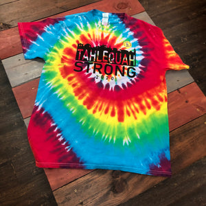 "Tahlequah Strong TIE DYE ""Michelangelo"" IN STOCK"