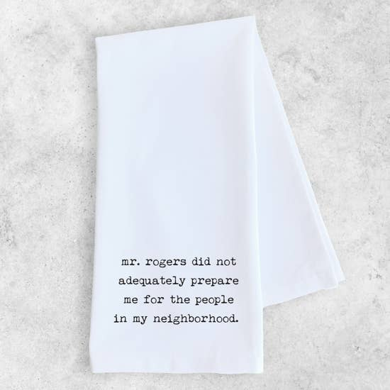 Mr Rogers - Tea Towel