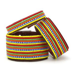 Swahili Coast -  Rainbow Stripe Collection