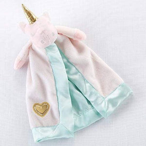 Unicorn Plush Rattle Lovie -Baby Aspen