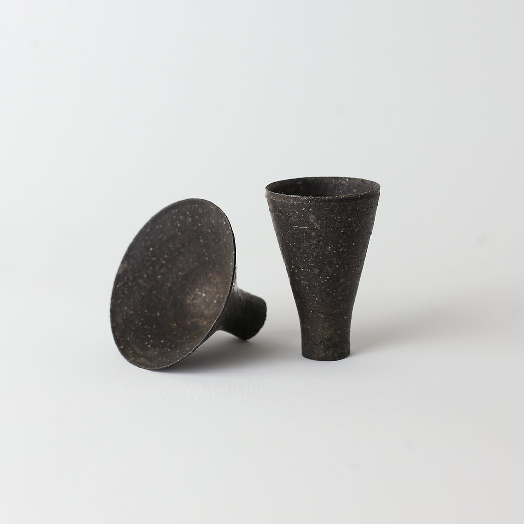 Spinning Top Cup - Black
