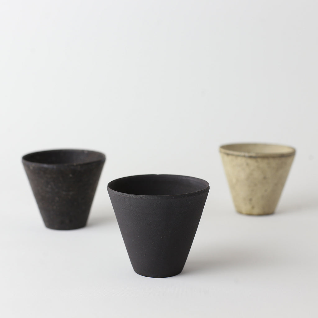 Short Cup - Charcoal