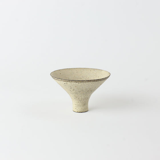 Spinning Top Cup - White
