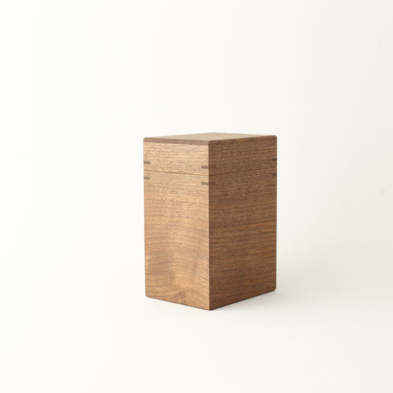 Canister L Walnut