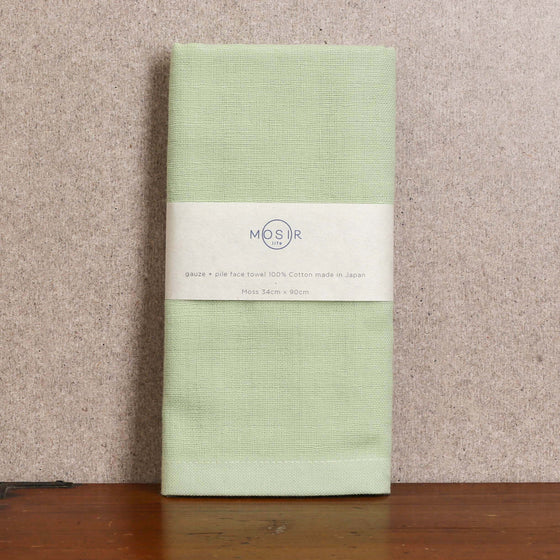 Face Towel - Moss