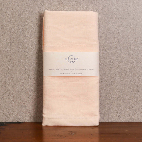 Face Towel - Soft Peach