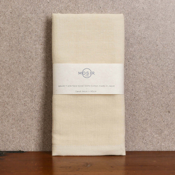 Face Towel - Sand