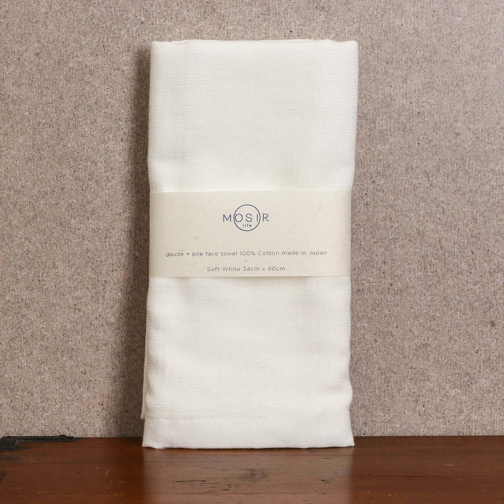 Face Towel - Soft White