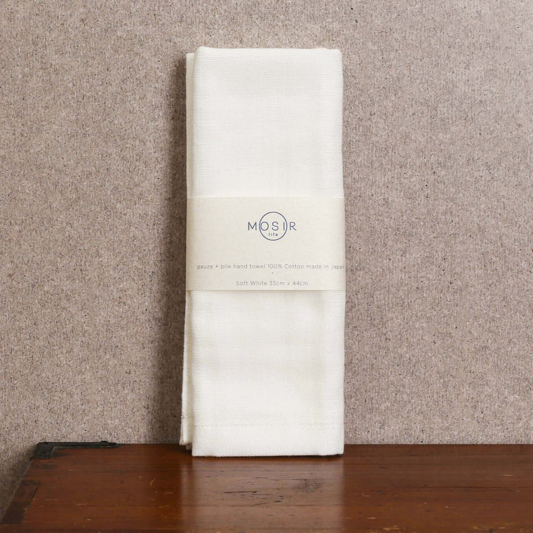 Hand Towel - Soft White