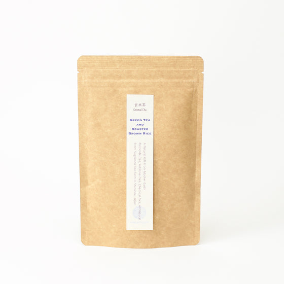 Japanese certified Organic Genmai Cha ( Roasted Brown Rice and Green Tea) From Shizuoka, Japan