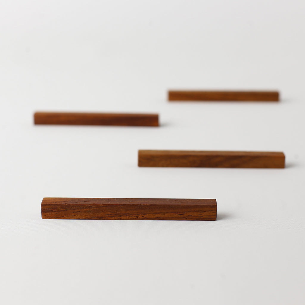 Rosewood Cutlery & Chopstick Rest set - Limited Edition