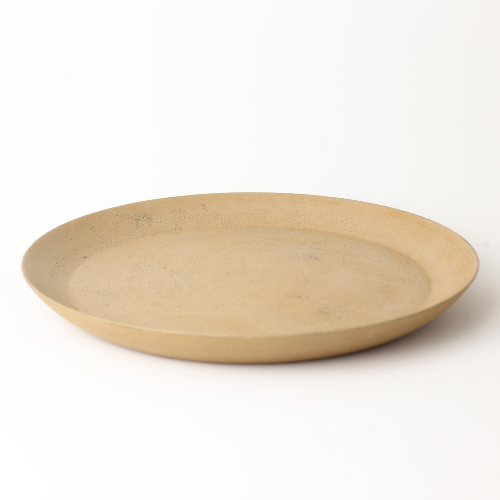 Makiji Urushi Japanese Cherry Round Tray