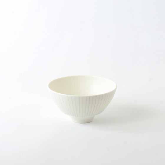Blue Striped Maru Bowl M