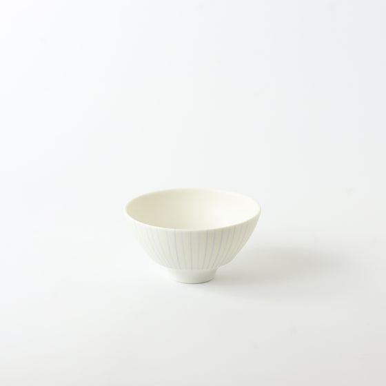 Blue Striped Maru Bowl S