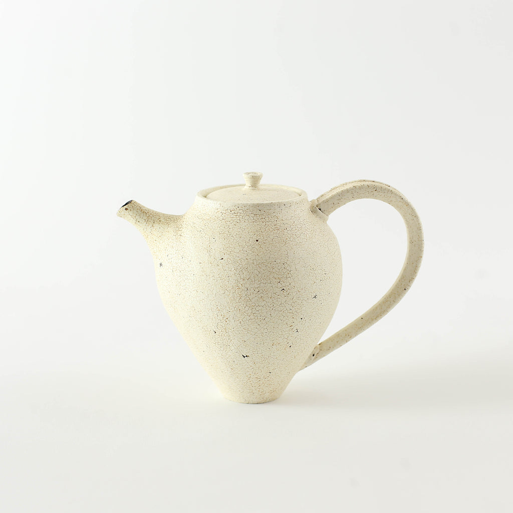 Hibi White Tea Pot