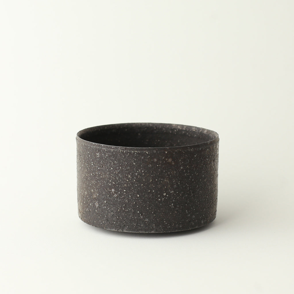 Straight Chawan Bowl - Black