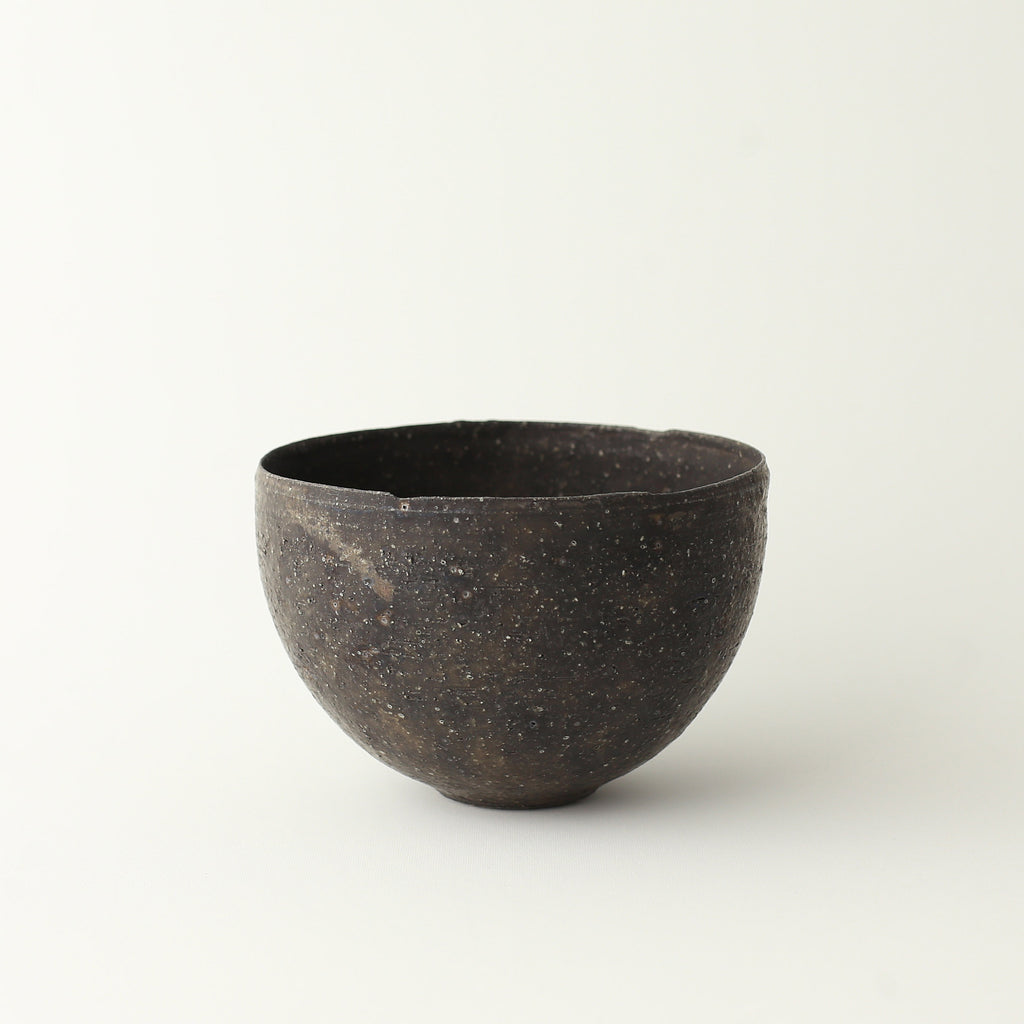 Round Chawan Bowl - Black
