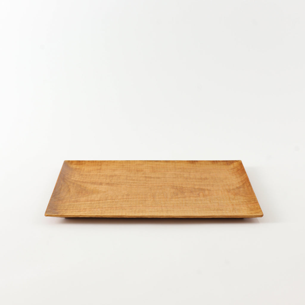 Japanese Cherry Hand Carved Tray