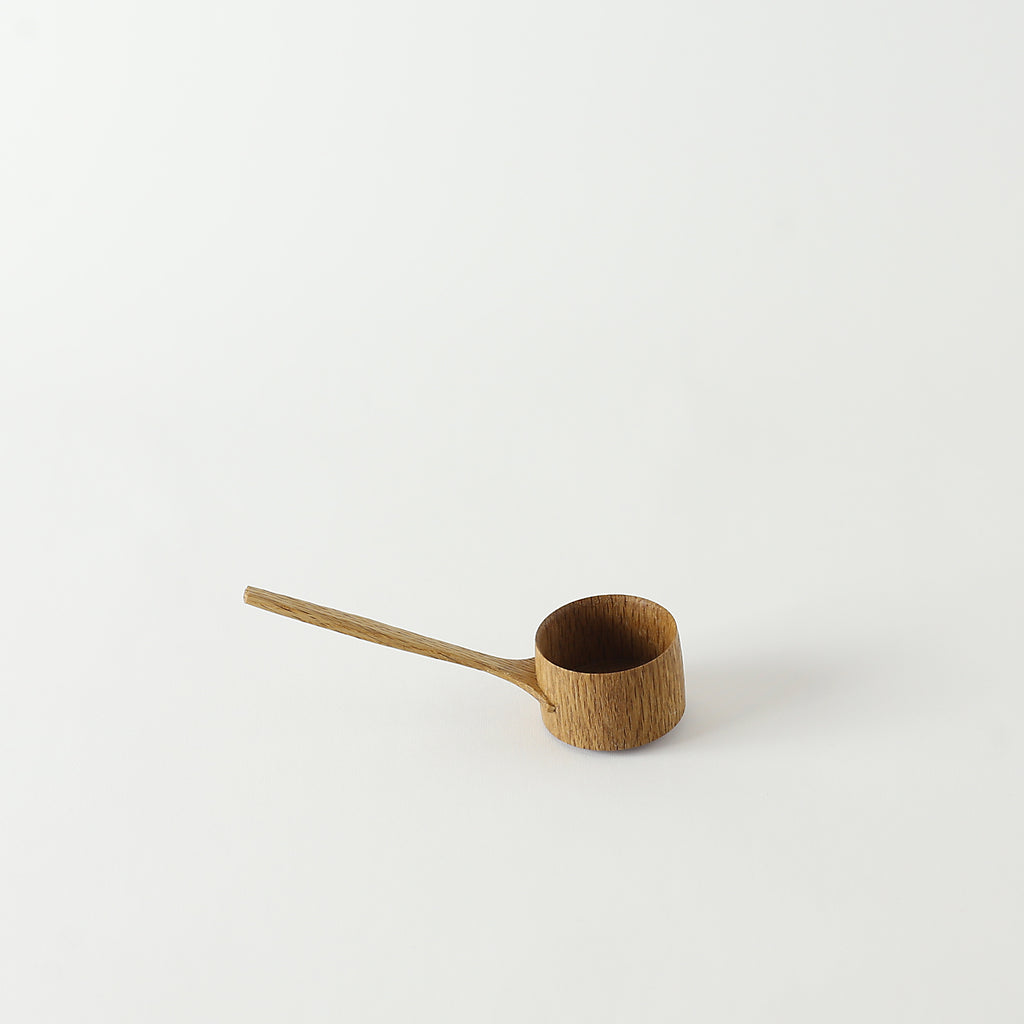 Japanese Oak Short Coffee Scoop