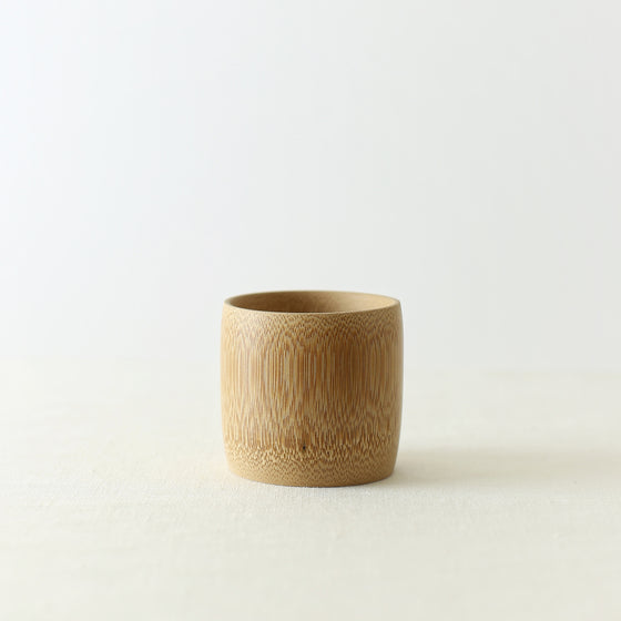 Handmade, Handcrafted, Japanese Artisan, Natural Bamboo Cup Small, Homeware, Tableware, Kitchenware, Beautiful Quality, Unique, Minimal, Made in Japan.