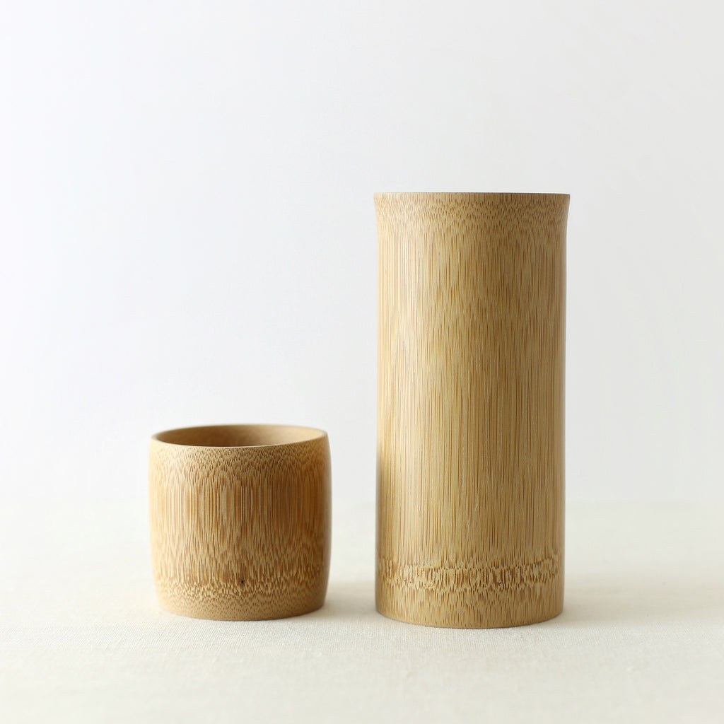 Handmade, Handcrafted, Japanese Artisan, Natural Bamboo Cup Large, Small, Homeware, Tableware, Kitchenware, Beautiful Quality, Unique, Minimal, Made in Japan.