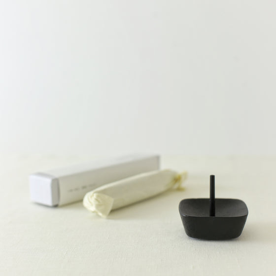 Handcrafted, Handmade, Japanese Artisan, Nambu iron candle stand, Candleholder, Candle, Homeware, Tableware, Beautiful Quality, Unique, Minimal, Gift, Art, Made in Japan.