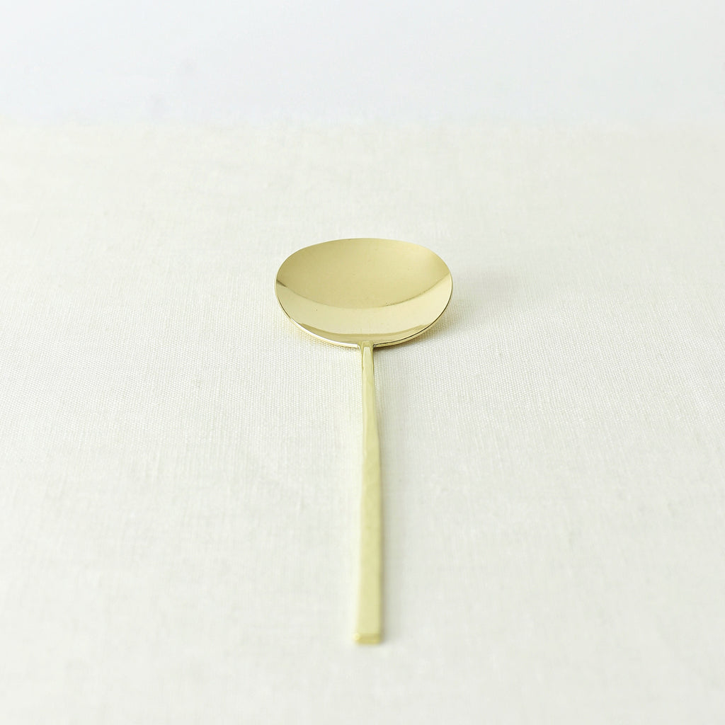 Handmade, Handcrafted, Japanese Artisan, Brassware, Brass, Spoon, Homeware, Tableware, Kitchenware, Beautiful Quality, Gifts, Art, Made in Japan.