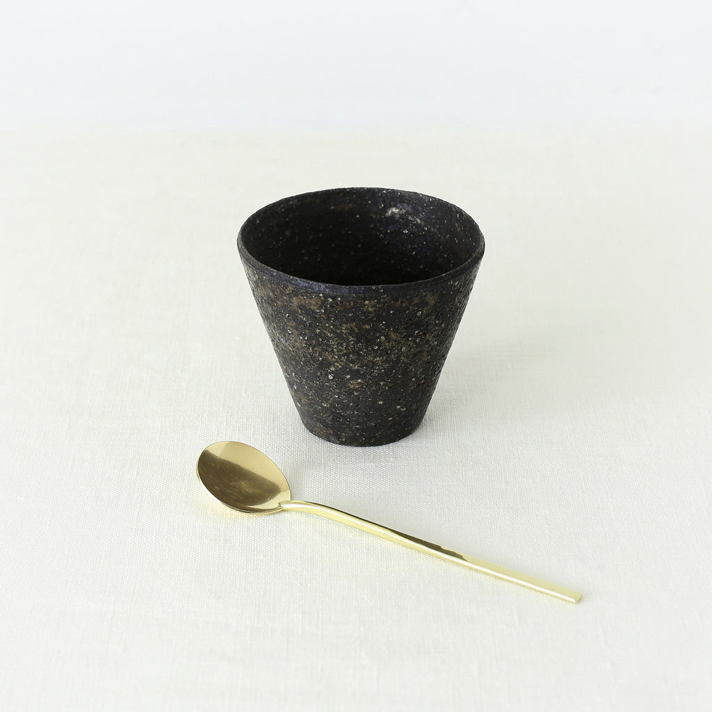 Handmade, Handcrafted, Japanese Artisan, Brassware, Brass, Spoon, Ceramic, Pottery, Cup, Homeware, Tableware, Kitchenware, Beautiful Quality, Gifts, Art, Made in Japan.