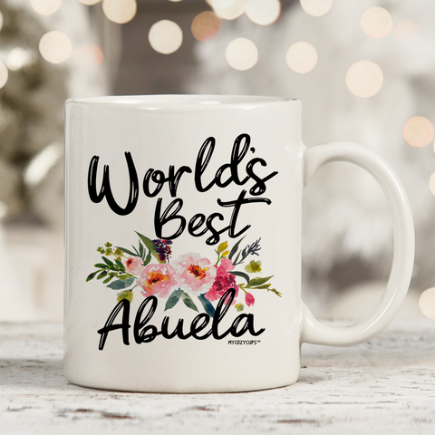 World's Best Abuela 11oz 15oz Coffee Mug