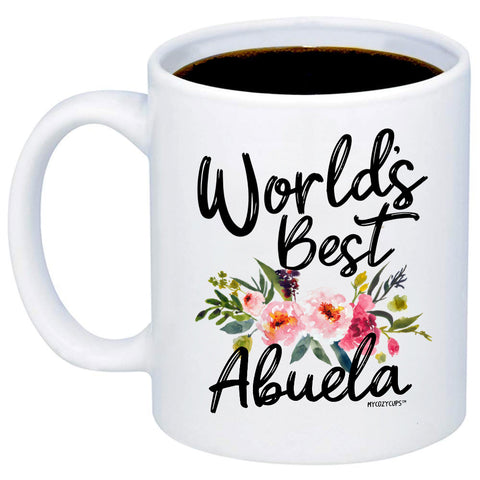 Image of World's Best Abuela 11oz 15oz Coffee Mug