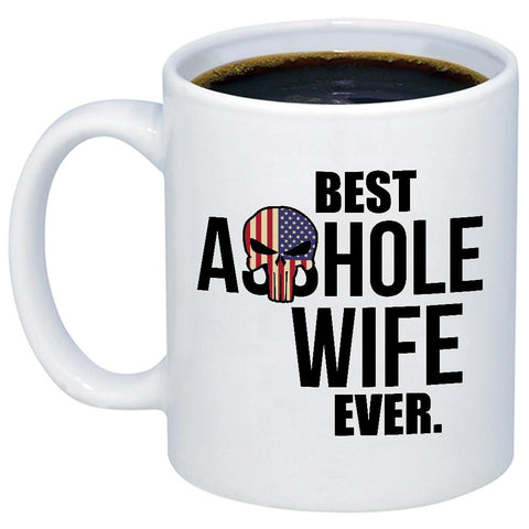 Image of Best Ahole Wife Ever 11oz 15oz Coffee Mug