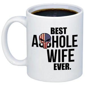 Best Ahole Wife Ever 11oz 15oz Coffee Mug