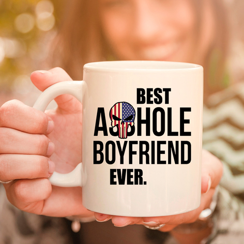 Image of Best Ahole Boyfriend Ever 11oz 15oz Coffee Mug Coffee Mug