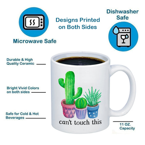 Image of Can't Touch This 11oz 15oz Coffee Mug