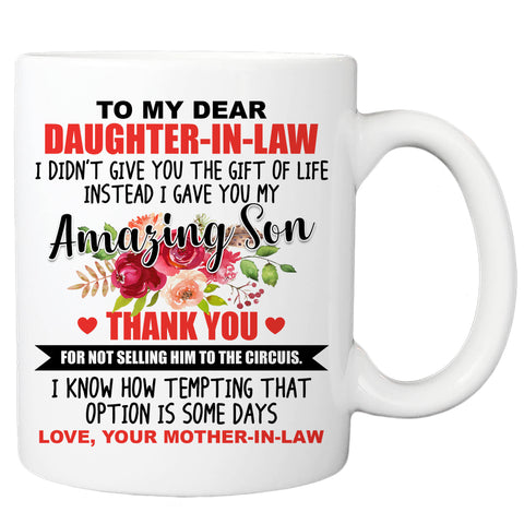 To My Daughter-in-law Coffee Mug