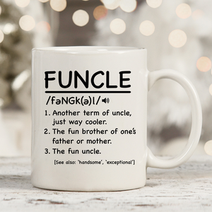 Funcle 11oz 15oz Coffee Mug