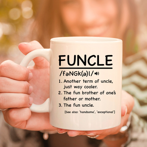 Image of Funcle 11oz 15oz Coffee Mug