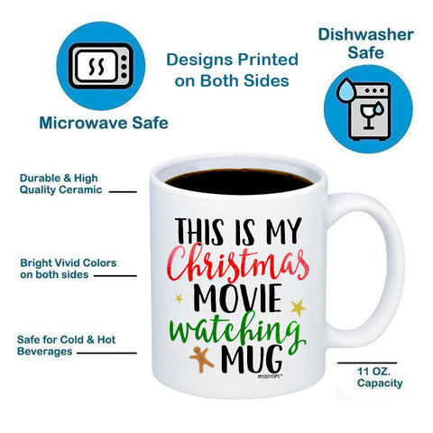 Image of This Is My Christmas Movie Watching Mug 11oz 15oz Coffee Mug