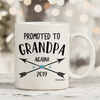 Promoted To Grandpa Again 2019 11oz 15oz Coffee Mug