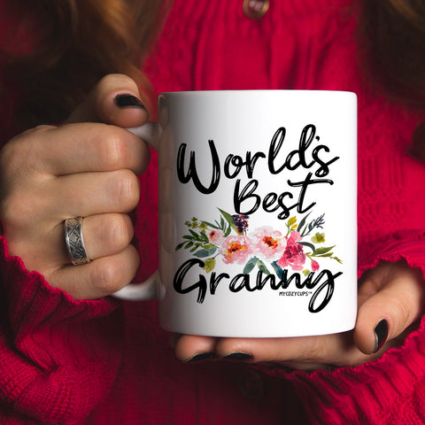 World's Best Granny 11oz 15oz Coffee Mug