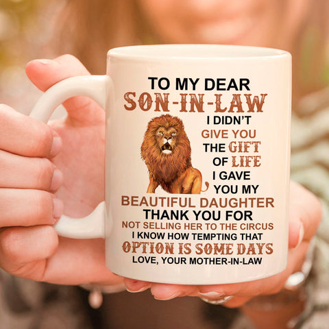 To My Son-in-Law Coffee Mug
