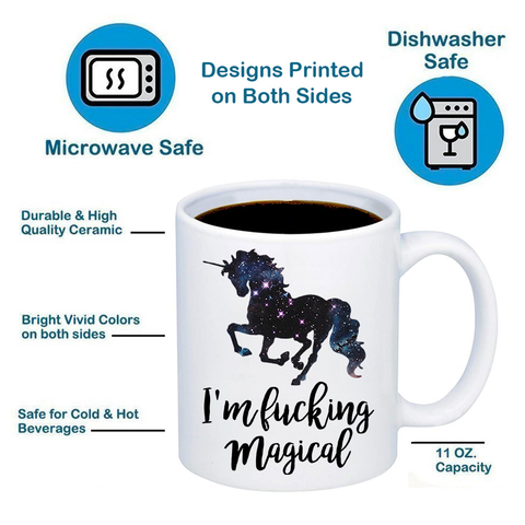 Image of I'm * Magical Unicorn 11oz 15oz Coffee Mug