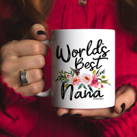 World's Best Nana 11oz 15oz Coffee Mug