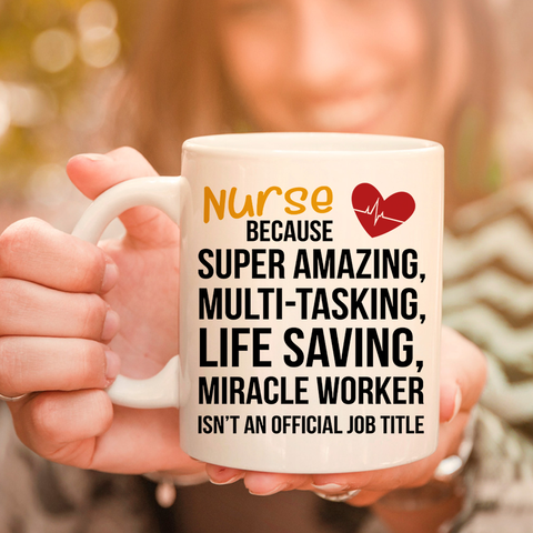 Image of Nurse Miracle Worker 11oz 15oz Coffee Mug