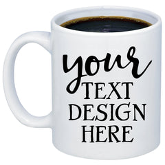 Custom Personalized 11oz 15oz Coffee Mug