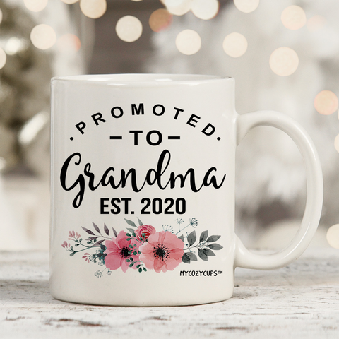 Promoted to Grandma 2020 11oz 15oz Coffee Mug