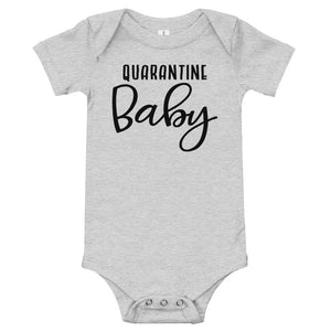 Quarantine Baby Funny Baby One Piece Bodysuit