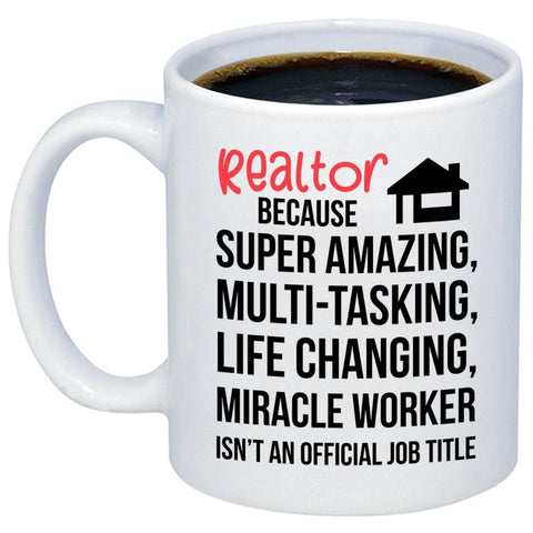 Realtor Miracle Worker 11oz 15oz Coffee Mug